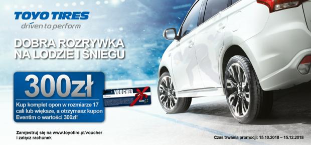 Promocja Opony Toyo 300zł Za Komplet Opon Zimowych