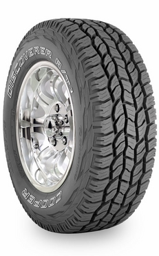 opony terenowe Cooper 285/50R20 DISCOVERER A/T3